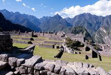Machu Picchu e o Titicaca